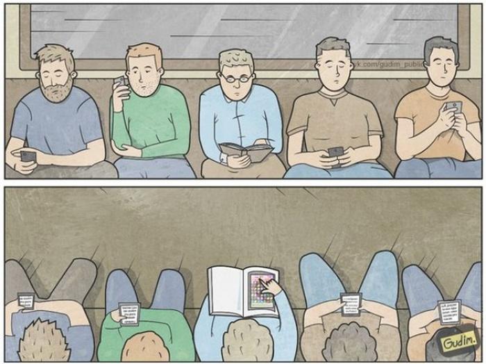 Саркастические комиксы о современном мире