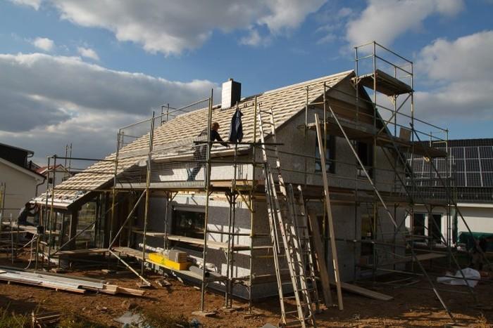донная строительство дома подробный фотоотчет потолок позволяет