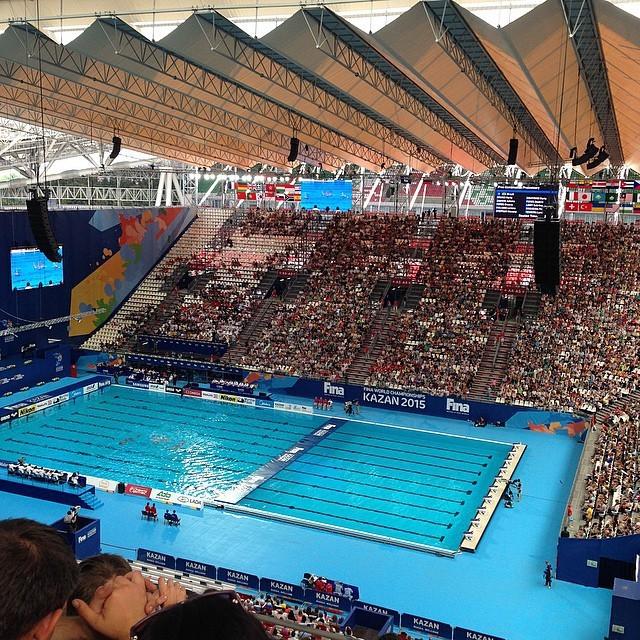 Как в Казани проходит чемпионат мира по водным видам спорта