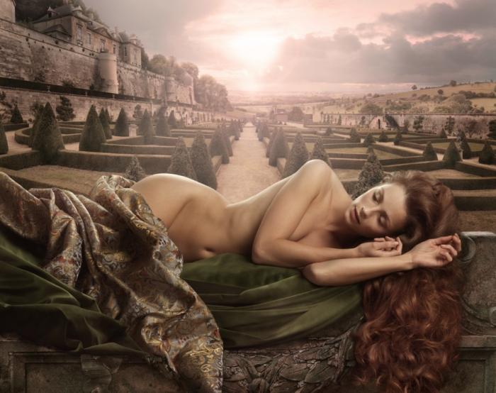Женская красота в работах Рональда Шметса