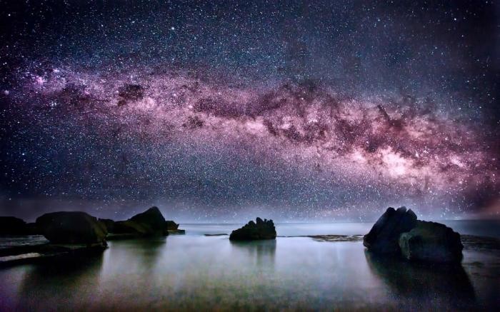 Путешествие по Млечному пути (фото+видео)