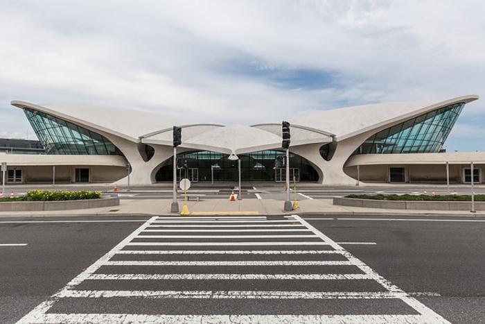 Заброшенный терминал нью-йоркского аэропорта имени Джона Кеннеди
