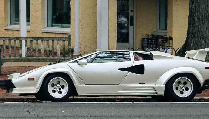 Интересное о Lamborghini Countach