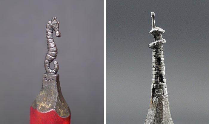 Скульптуры из грифеля карандаша