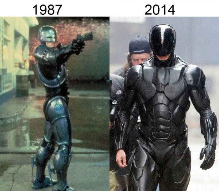 Трансформации героев в ремейках фильмов