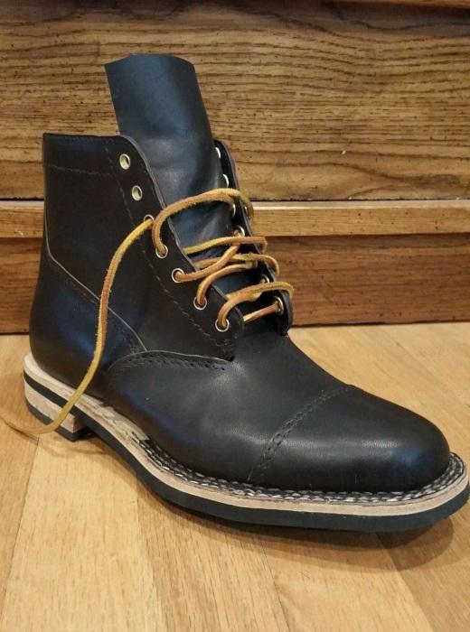 Самодельные ботинки