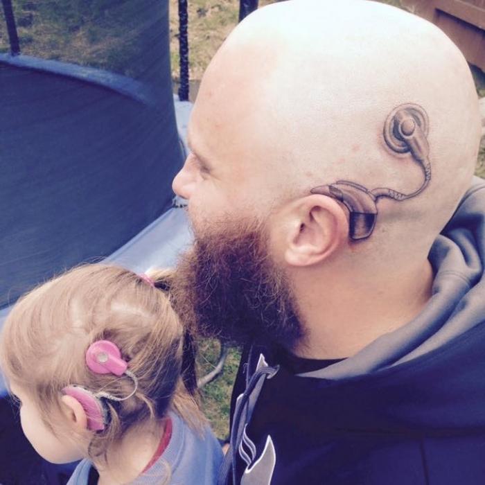 тату ради дочери