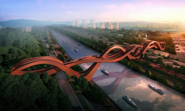 5 самых необычных пешеходных мостов в мире