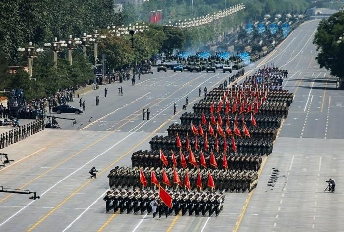 Парад в честь 70-летия окончания Второй мировой войны в Пекине