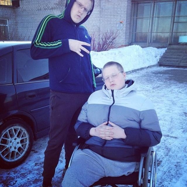 Сильный человек Сергей Кутовой