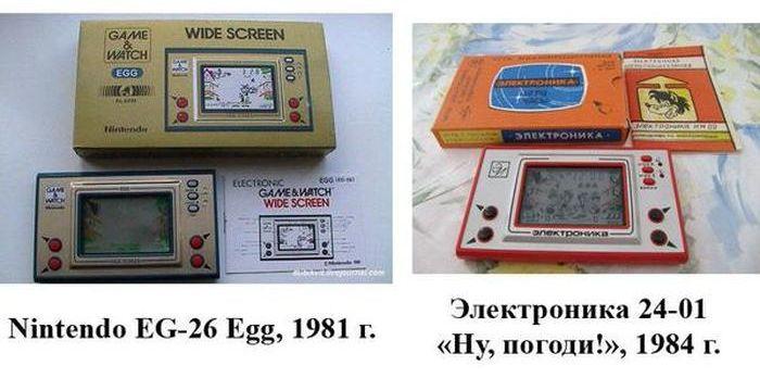 Зарубежные прототипы продукции СССР