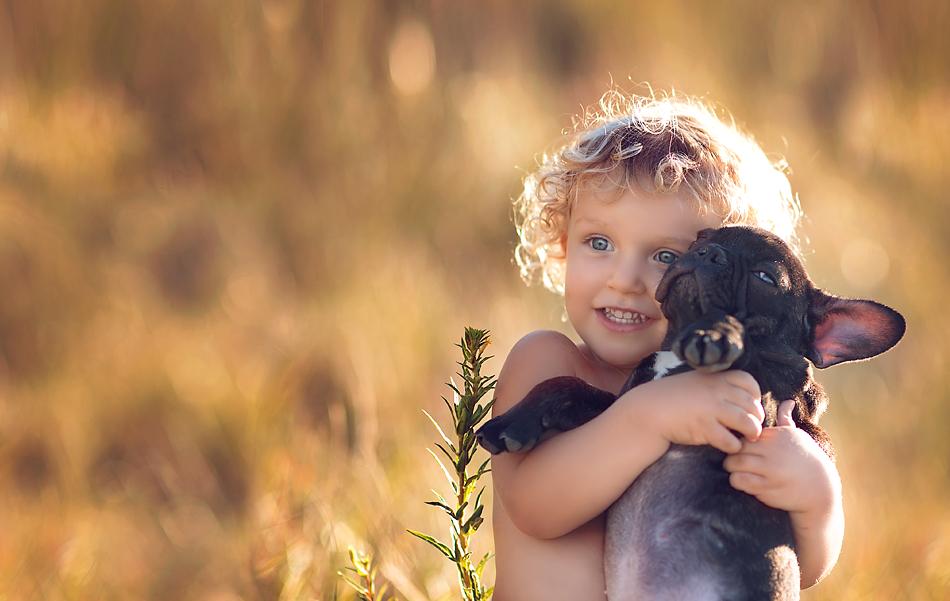 картинки животных с маленькими детьми намешивать цвета, научиться