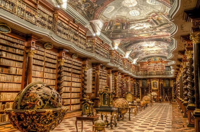 Национальная библиотека Чехии