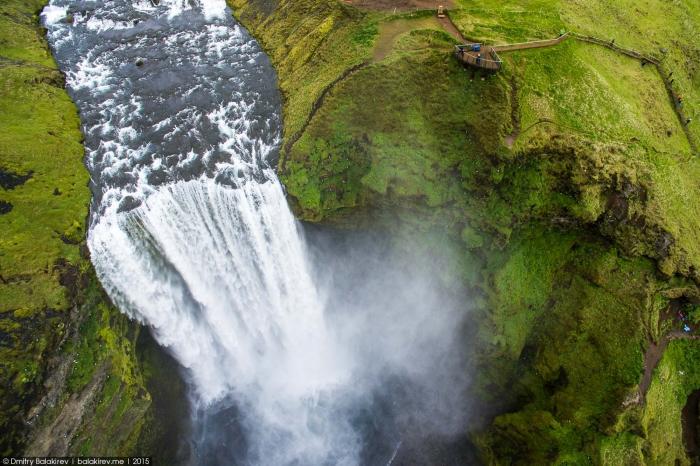 Фотографии Исландии, снятые дроном