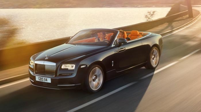 Роскошный Rolls-Royce Dawn