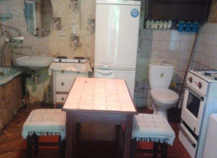 Необычная квартира-студия в центре Киева