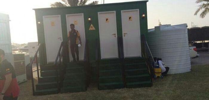 Как выглядит общественный туалет в Дубае