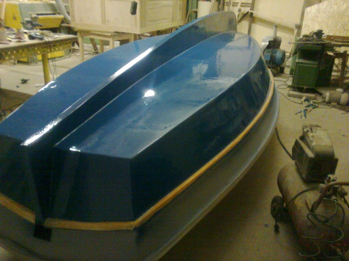 постройка лодки своими руками стеклопластик