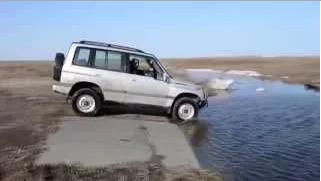 Прикол. Они топят машины.УЖАС.