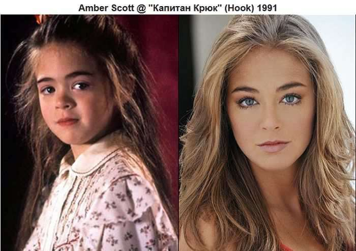 Знаменитые дети-актёры: тогда и сейчас
