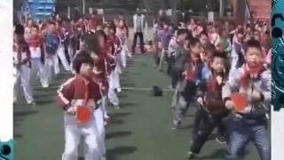 Прикольное видео! Тренировка китайских теннисистов!