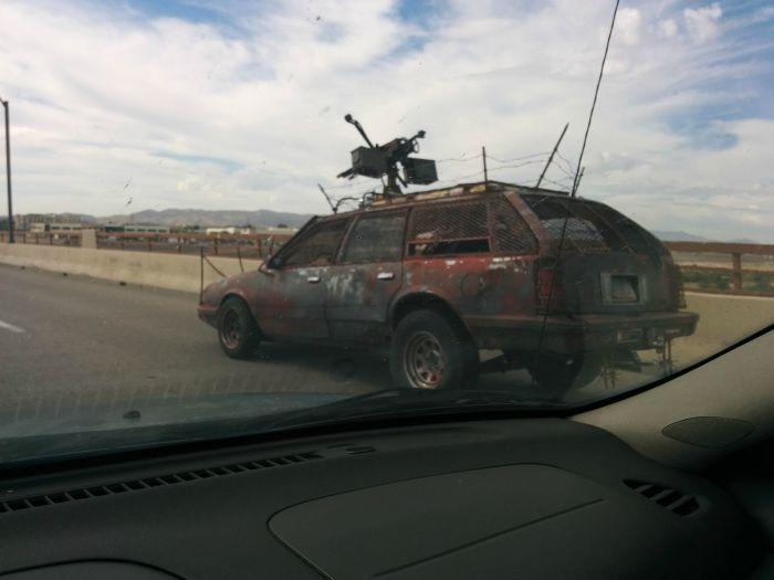 Машина для зомби-апокалипсиса