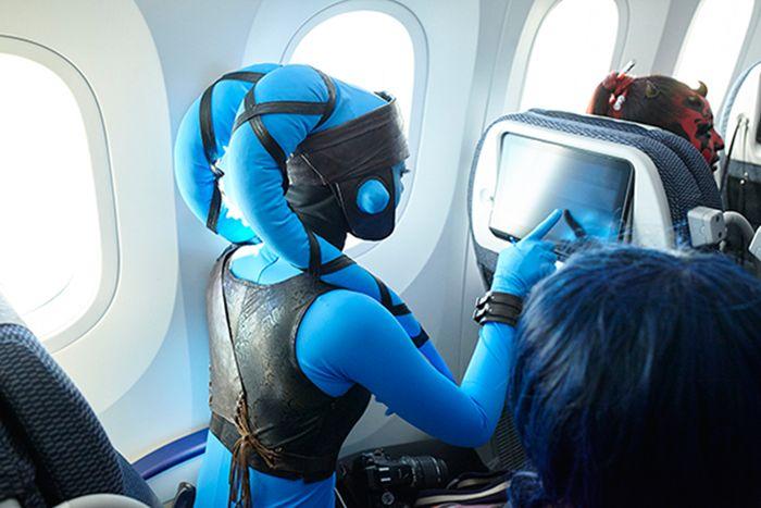 Самолет для фанатов «Звездных войн»