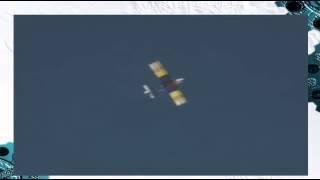 Родился в рубашке! Пилот выпрыгнул из самолета за секунды до взрыва