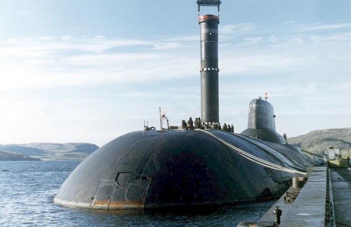 Подводная лодка «Акула» - проекта 941
