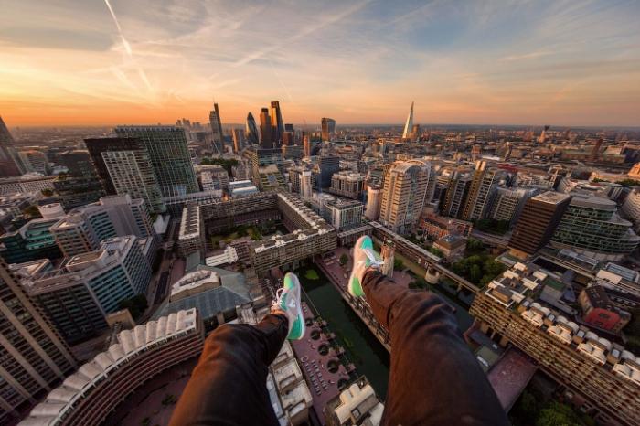 Прогулка по крышам Лондона