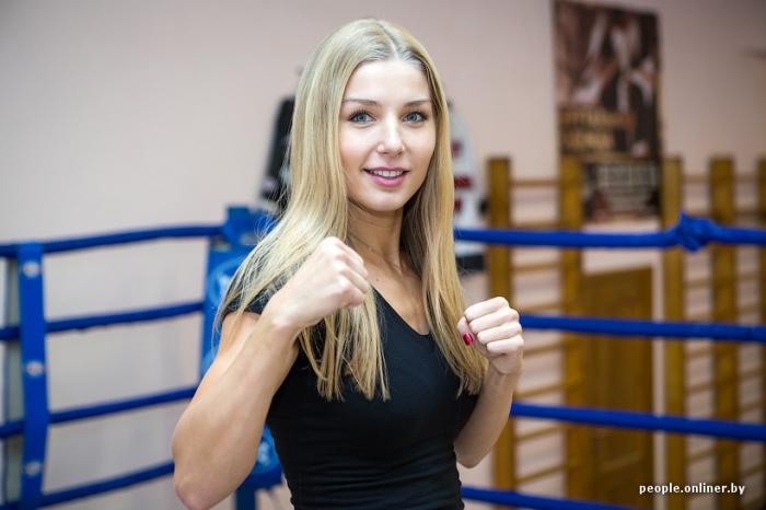 Чемпионка мира по муай тай Екатерина Вандарьева