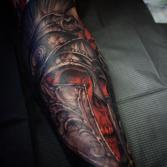 Крутые татуировки от Джеффа Гоугвэя