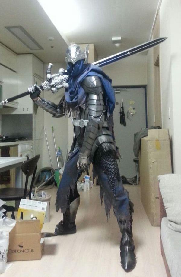 Создание костюма героя игры Dark Soul Artorias Artorias of the Abyss своими ...