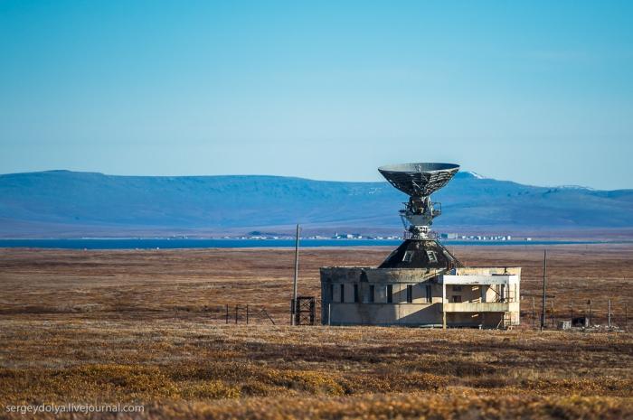 Заброшенная станция спутниковой связи