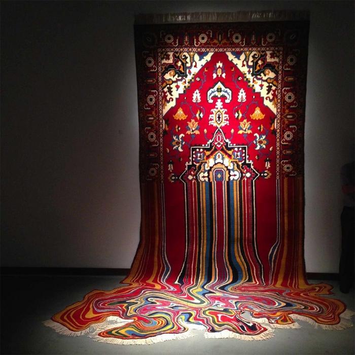 Креативные ковры Фаига Ахмета