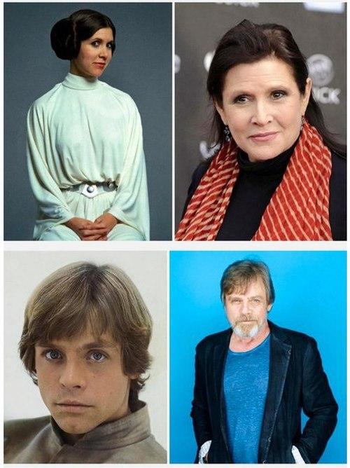Актеры Star Wars тогда и сейчас