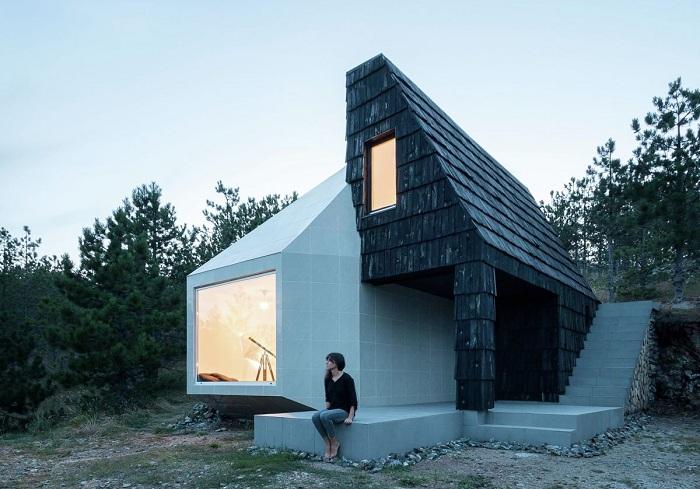 Креативный дом на сербском курорте Дивчибаре