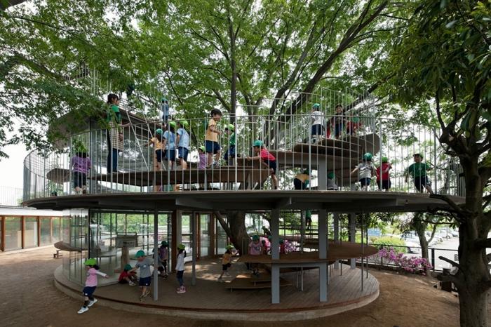 Детский сад «на дереве»