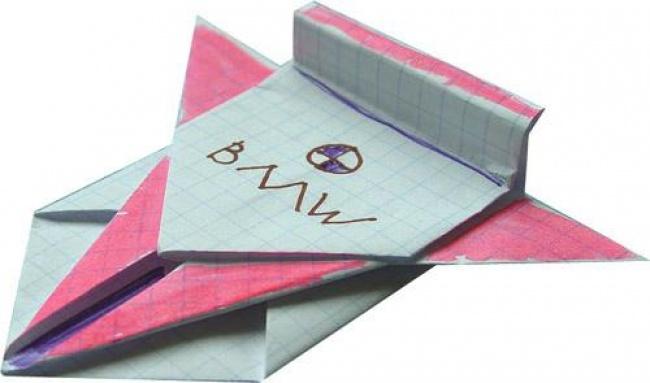 Что можно сделать из тетрадного листа бумаги