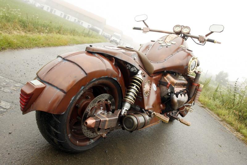 мотоциклы в стиле стимпанк картинки цифры помогут