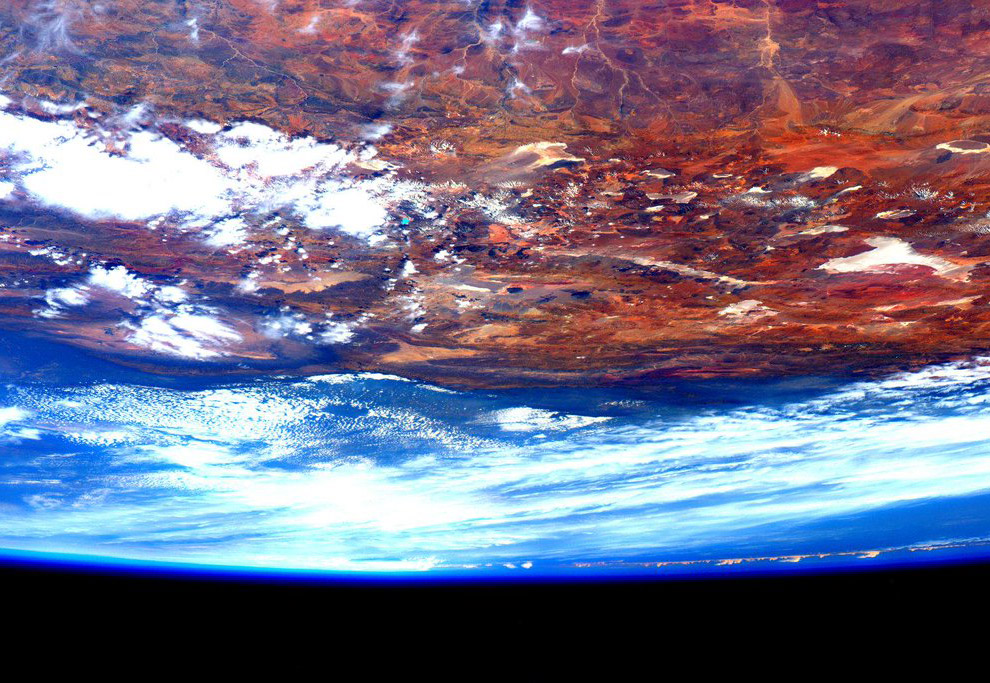 Последняя картинка с космоса
