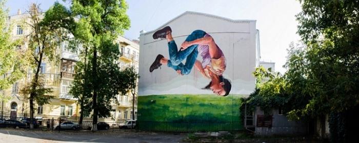 Стрит-арт на улицах Киева