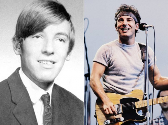 Рок-звезды в молодости и сейчас