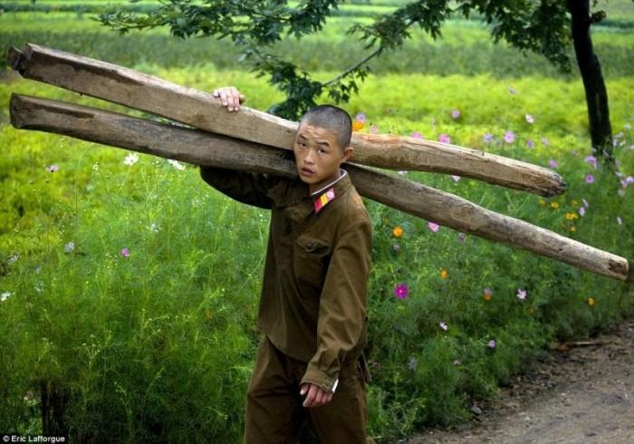 Северная Корея в фотографиях Эрика Лаффорга