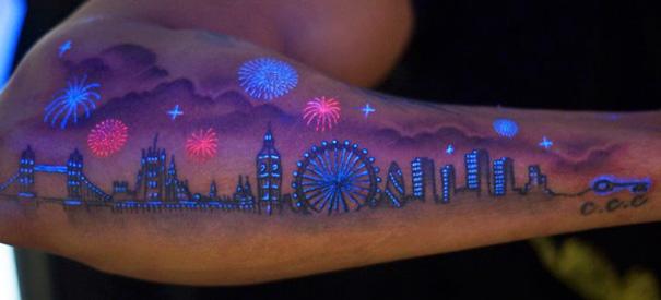 Татуировки, которые оживают ночью