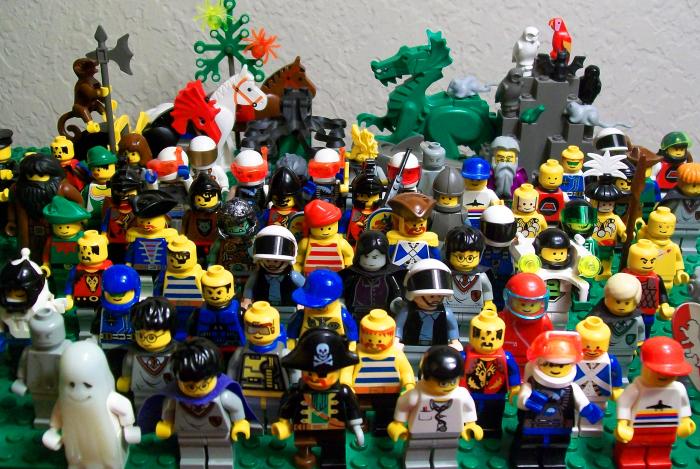 10 фактов о Lego
