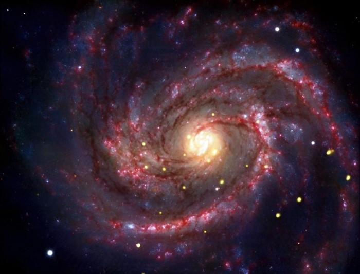 Галактики и чёрные дыры