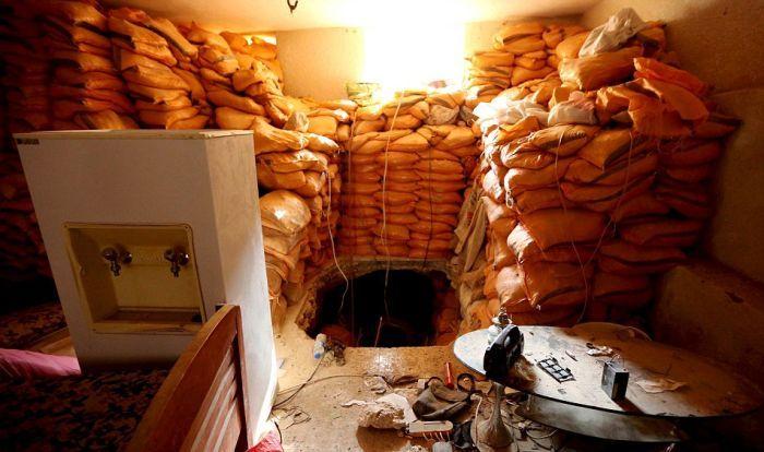 Система подземных тоннелей боевиков ИГИЛ