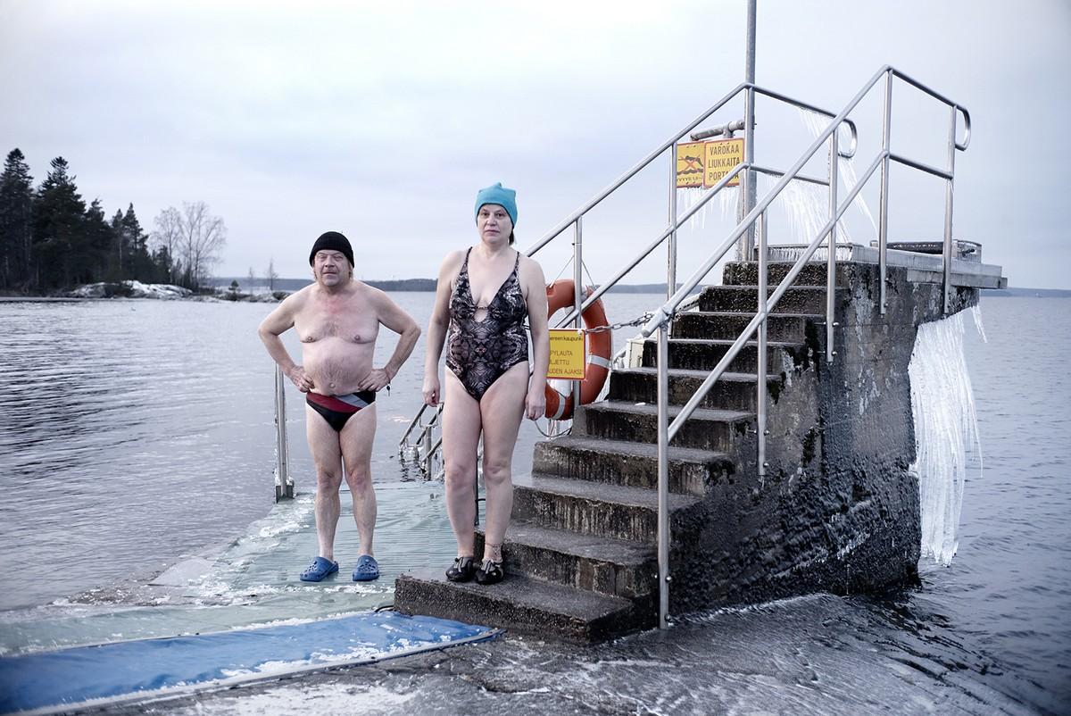 зимние купания фото фото они