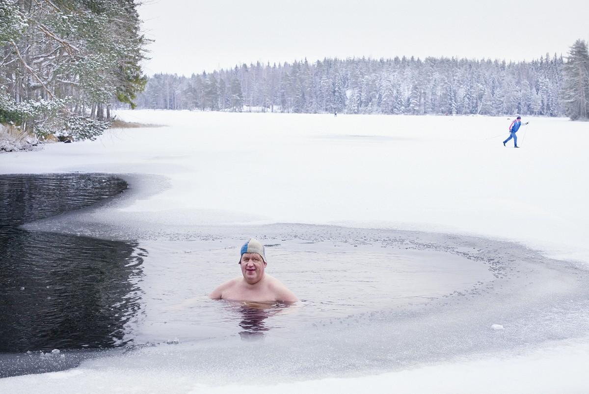 такой чудесный зимние купания фото уже доводилось несколько